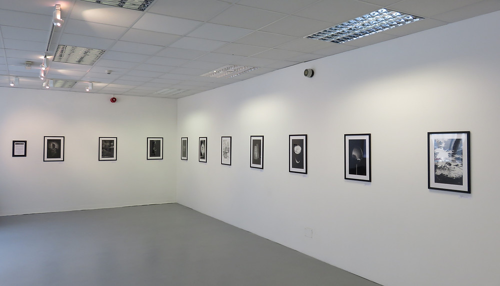 Photograph of our exhibition at Vane Gallery in Newcastle