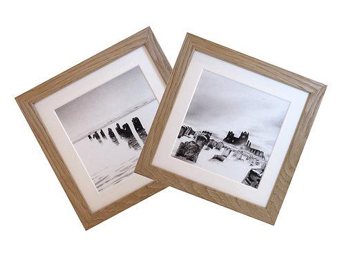 Snowscape print set