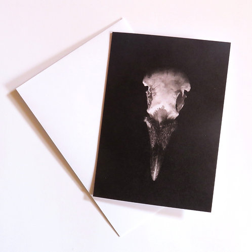 Finders Keepers gothic illustration blank card