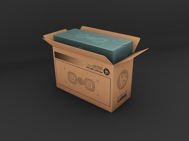 DLS Speaker Packaging
