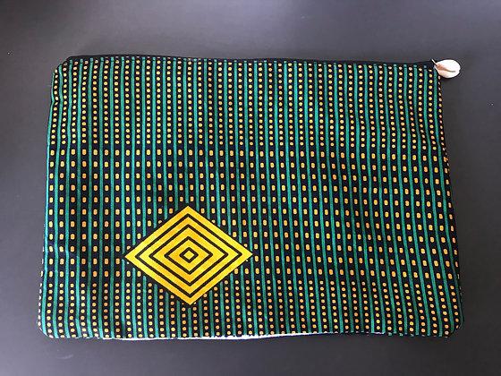 Grande trousse wax verte et jaune
