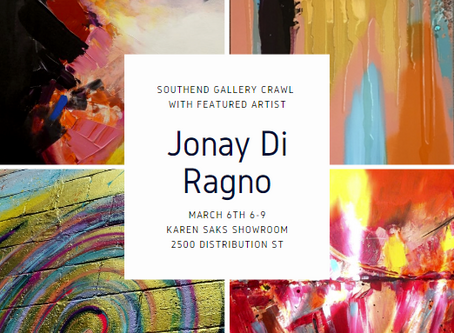 Southend Gallery Crawl with Jonay Di Ragno