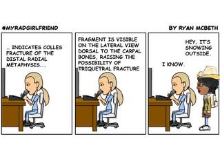 The Evolution of a Cartoon