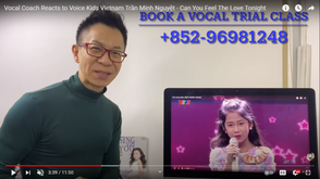 What did a professional vocal coach react to Voice Kids? Let's take a look! 專業的聲樂教練對Voice Kids有何反應?