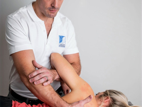 Shoulder pain? Osteopathy can help...