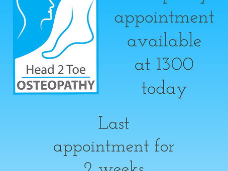 Late availability for treatment