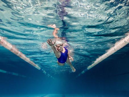 Common swimming injuries