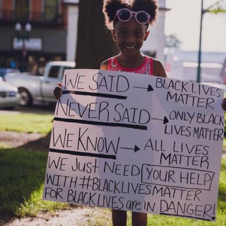 I missed the point of Black Lives Matter