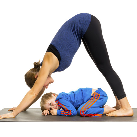 Family Yoga | Camel Pose