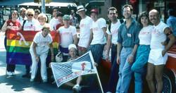Last AREA Contingent in NYC Pride March