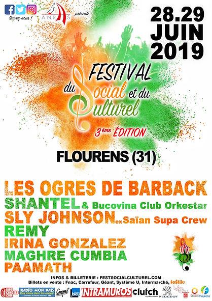 AFFICHE Festival du Social et du Culture