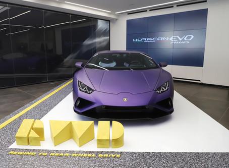 The new Lamborghini Huracán EVO Rear-Wheel Drive