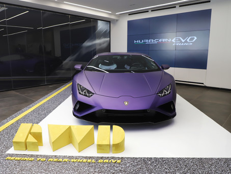 The new Lamborghini Huracán EVO Rear-Wheel Drive