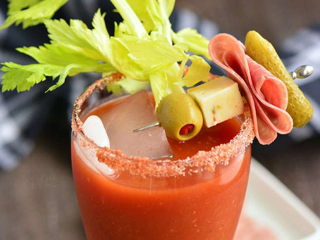 Bloody Mary Recipe from Tomato Sauce
