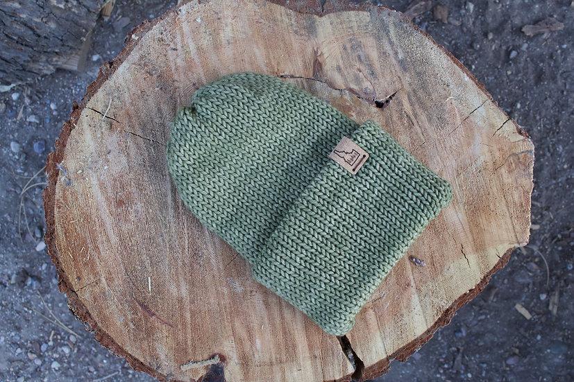 Adult Shadyside Beanie - 100% Hand-dyed Merino Wool