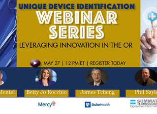 """Summate to Participate in """"Leveraging Innovation in the O.R."""" Online Panel Discussion"""