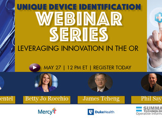 "Summate to Participate in ""Leveraging Innovation in the O.R."" Online Panel Discussion"