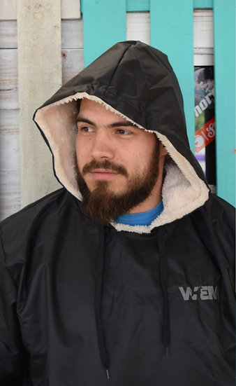 Oversized Impermeable Negro