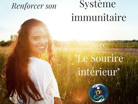 """Renforcer son système immunitaire par le """"Sourire intérieur"""" du Tao"""