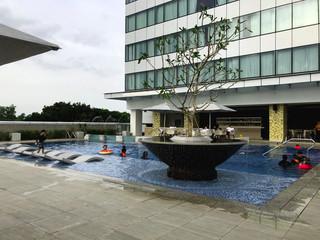 Marriott Hotel - Pool Area 0616.JPG