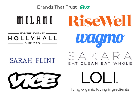 We've Partnered with Givz, because shared values are important