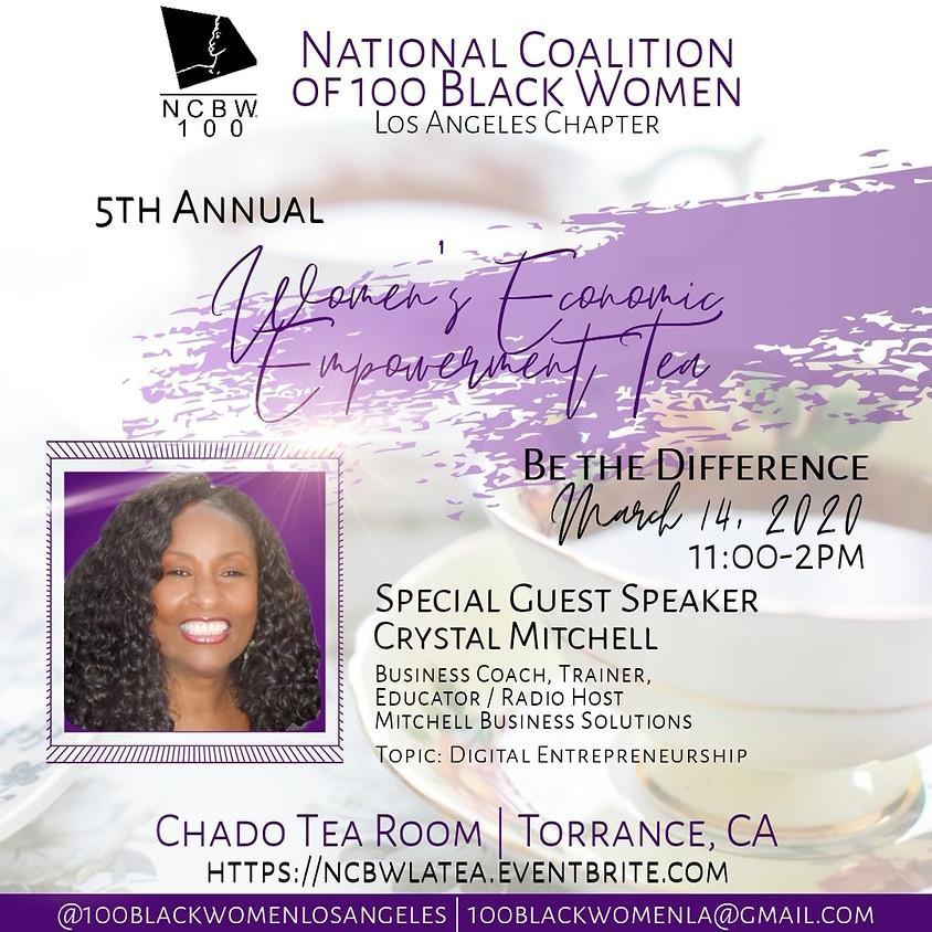 100 Black Women 5th Women's Economic Empowerment Tea