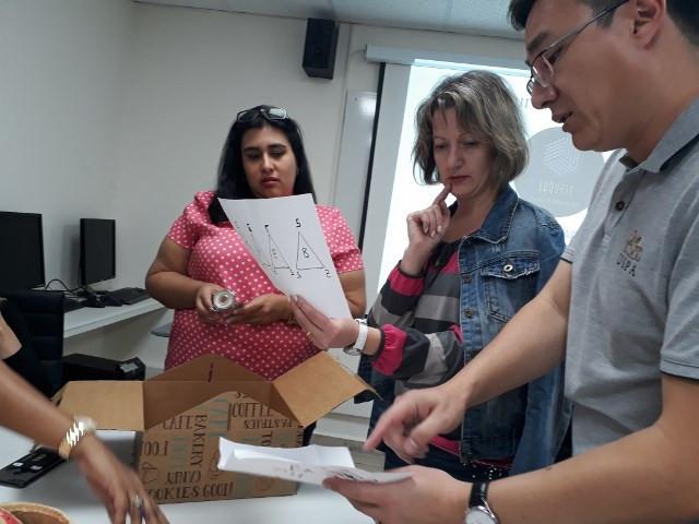 השתלמות חדרי בריחה בחינוך משלחת של משרד החוץ