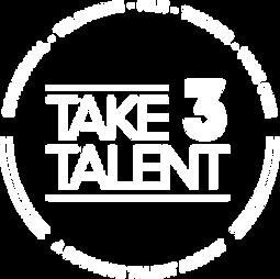 Take 3 Talent Agency Logo