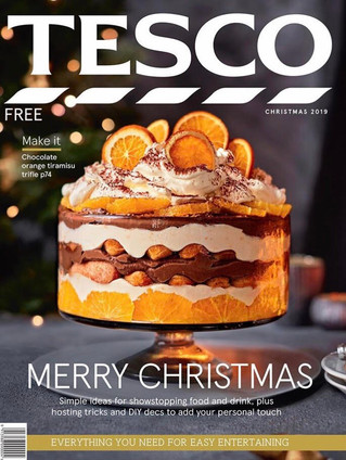 Prop Styling for the Tesco Magazines Christmas front cover