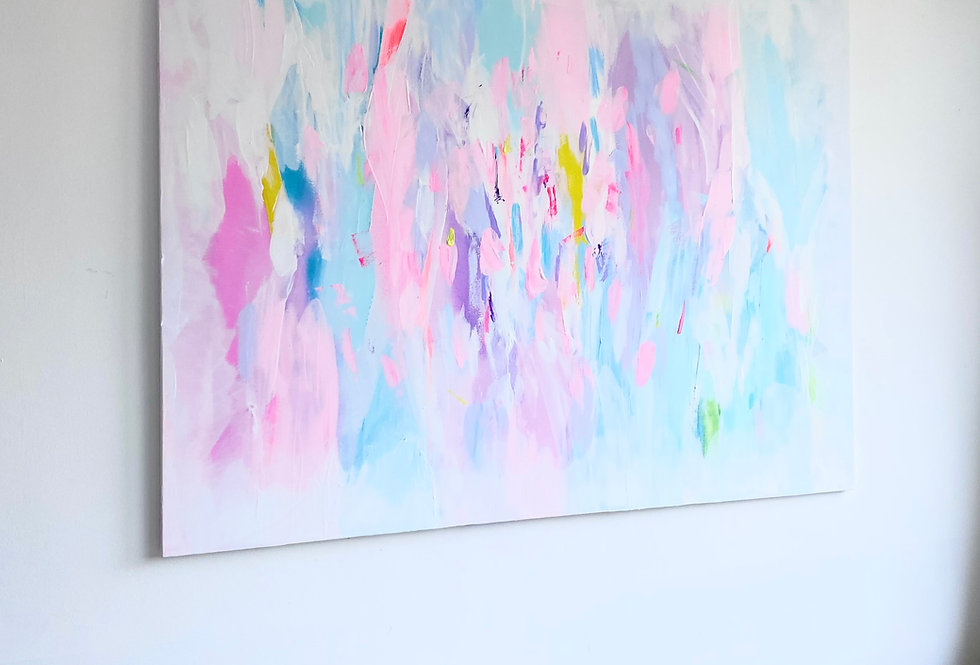 Pastel Dreaming 120cm x 90cm