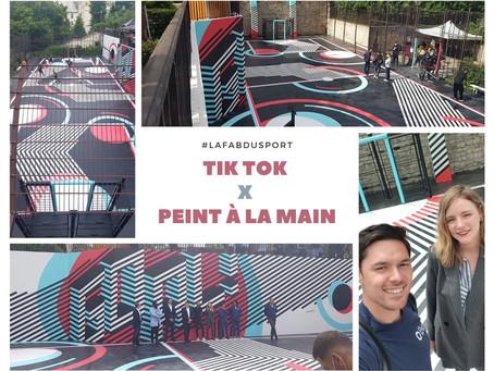 TIK TOK X PEINT À LA MAIN 📣
