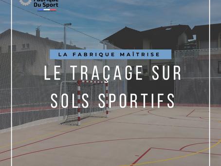 📣 Le traçage sur sols sportifs 📣