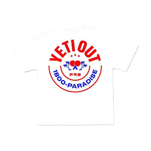 Yeti in Paradise T-shirt