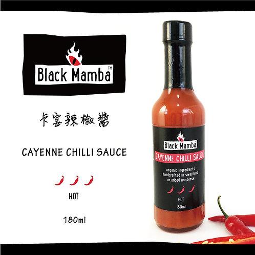 Cayenne Chilli Sauce (L) 黑嬤嬤卡宴辣椒醬(大)