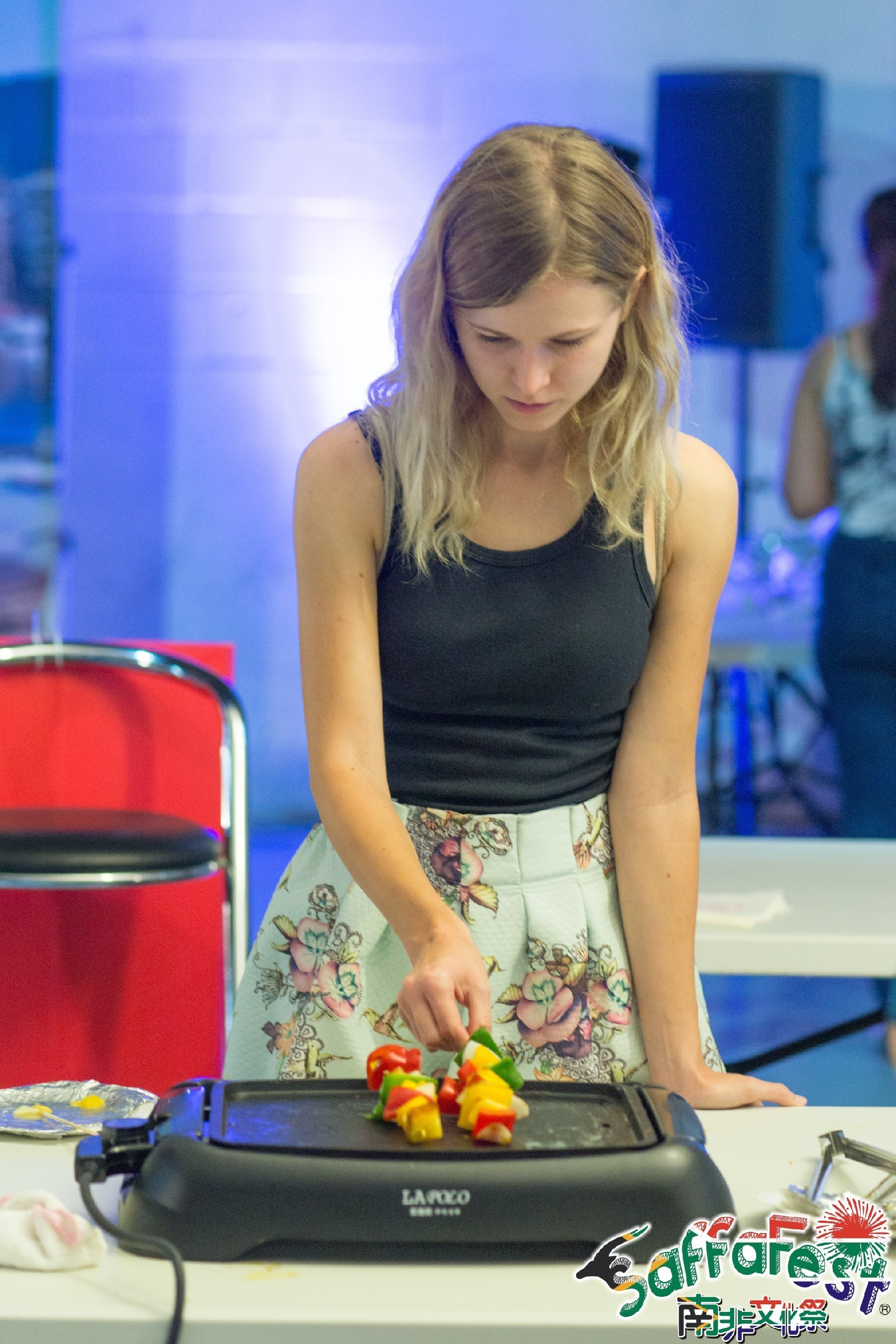 DIY kitchen lady