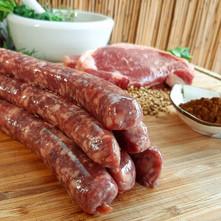 Sausage shack raw sausages.jpg