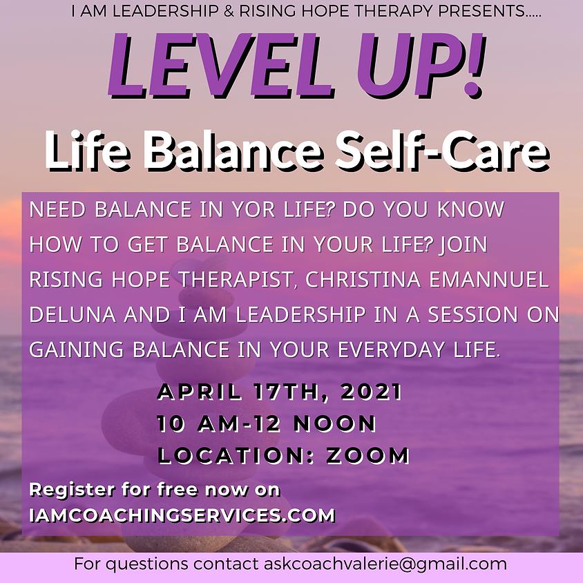 Life Balance: Self-Care