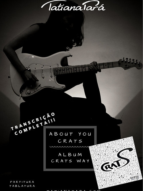 About You - PDF com Partitura / Tablatura e Backing Track MP3