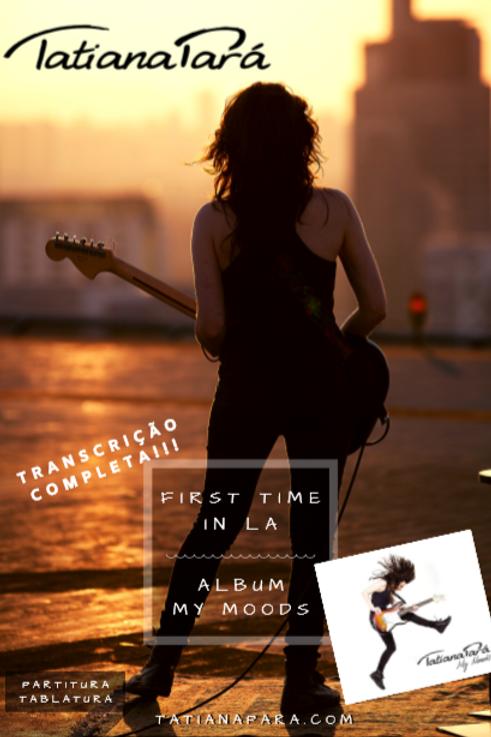 First Time In LA - PDF com Partitura / Tablatura e Backing Track MP3