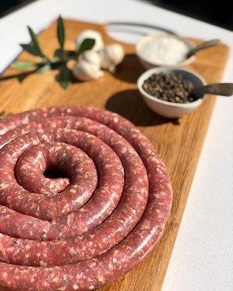 Sausage for homemade droewors