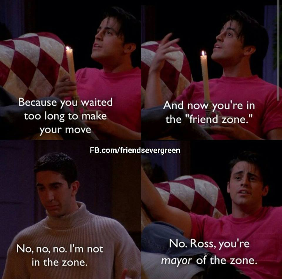 """The No Escaping of the """"Friend Zone"""""""