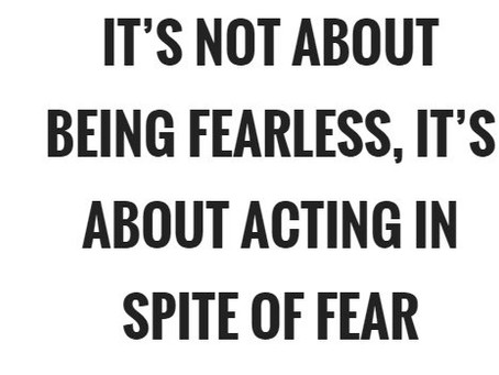 Choosing Fear over Fearlessness