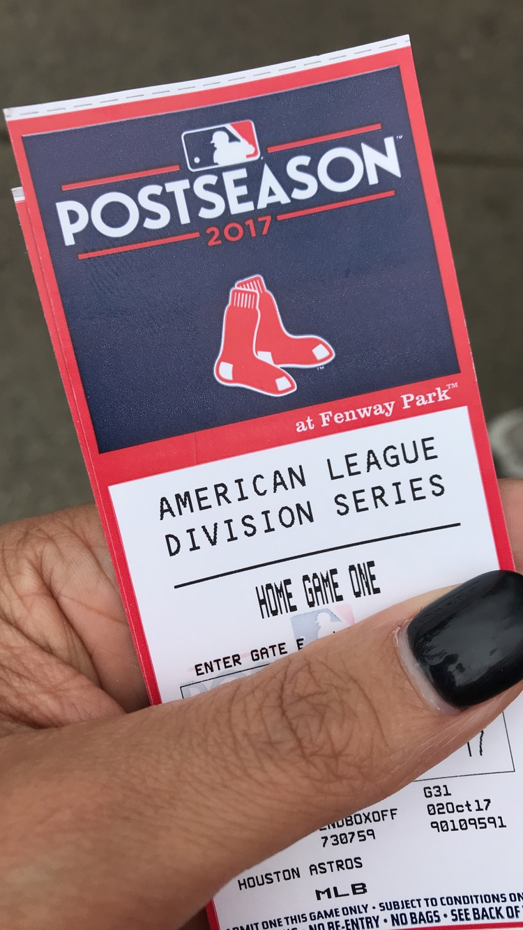 fenway game one