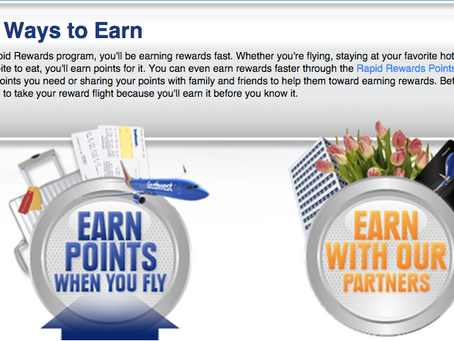 Points Queen: Earning Daily With Southwest Air and Traveling On A Frugal Budget
