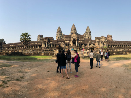 Angkor Wat: Legendary Meets Touristy