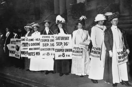 SUFFRAGE NOW: Stencil-Printed Poster-Making Workshop TODAY 1/16