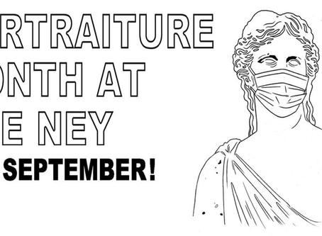 Free Programs: Portraiture Month at the Elisabet Ney Museum!