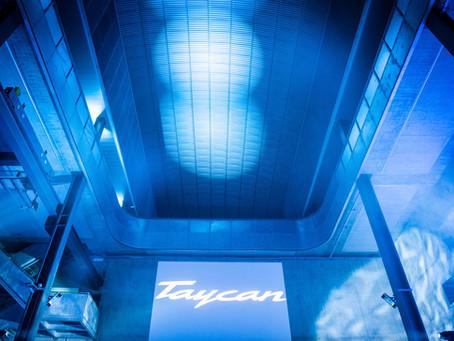 Soirée de lancement de la Porsche Taycan
