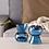 Thumbnail: Vase bleu / porte bougie