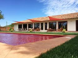 Hotel Casablanca BCW, piscina roja